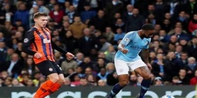 ستيرلنج يضع الكرة الأوروبية في خطر بعد ركلة جزاء مباراة شاختار