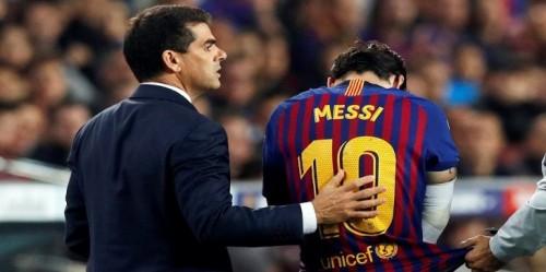 برشلونة يقرر ترك موعد عودة ميسي للملاعب لهذا الشخص