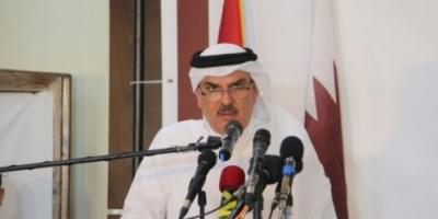 بالأحذية والحجارة.. ضرب سفير قطر في غزة «فيديو»