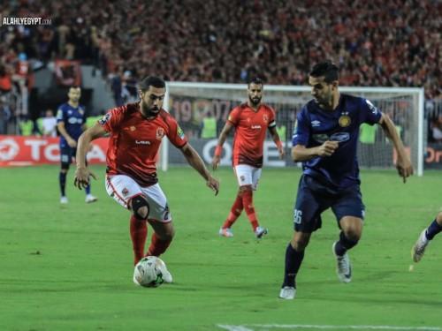 هدف واحد يفصل الترجي عن الفوز ببطولة إفريقيا بالتقدم على الأهلي 1-0