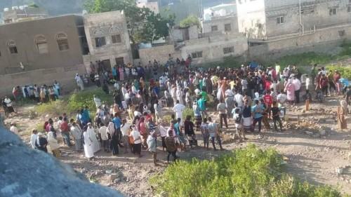بالصور.. جنازة مهيبة لشهيد الأوكار الإرهابية في دارسعد