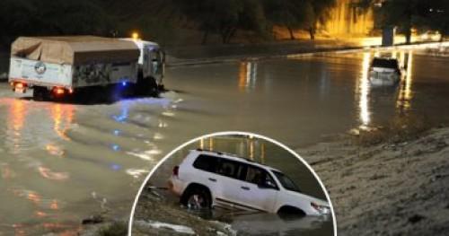 نجوم الوطن العربي يساندون الكويت بعد تعرضها لسيول