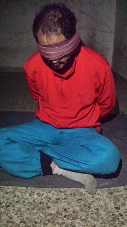 أسر قيادي حوثي في الضالع «صورة»