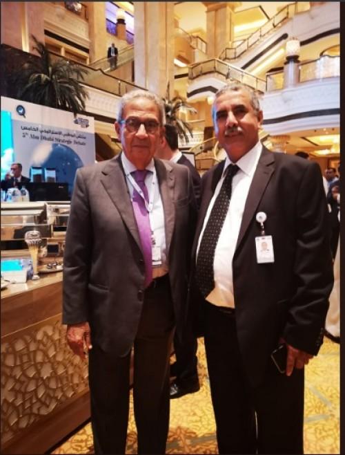 غالب يشارك في ملتقي أبو ظبي الاستراتيجي الخامس