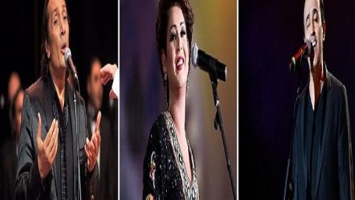 الليلة.. نوال الكويتية وصابر الرباعي وعلي الحجار يحييون حفلات مهرجان الموسيقى العربية