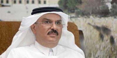 """متظاهرون فلسطينيون يرشقون موكب سفير """"قطر"""" بالحجارة"""