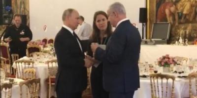 بعد تدهور العلاقات.. نتنياهو وجها لوجه مع بوتين لدقائق معدودة
