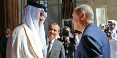من خلال قطر..الأطماع التركية تظهر بالمنطقة العربية
