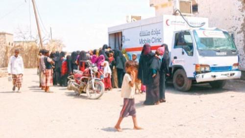 الإمارات تنعش القطاع الصحي في الخوخة بعيادات متنقلة مجانية