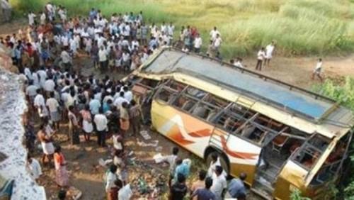 مصرع 7 أشخاص إثر سقوط حافلة من مرتفع في بيرو