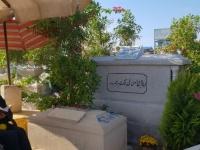 في ذكرى وفاته الثانية.. بوسي شلبي تزور قبر محمود عبد العزيز