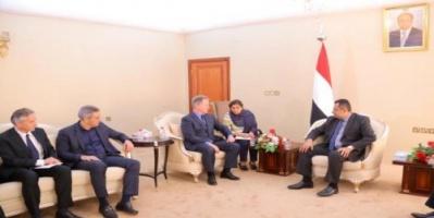 وصول المدير التنفيذي لبرنامج الغذاء العالمي محافظة عدن