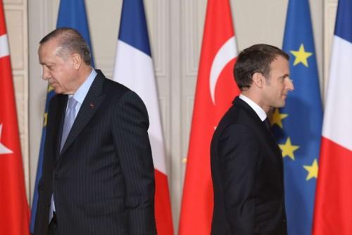 باريس تتصدى لحملات أردوغان ضد السعودية