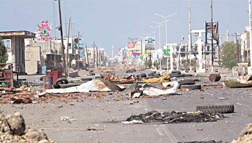 مقاتلون: الميليشيات الحوثية تتبع سياسة الأرض المحروقة داخل الحديدة