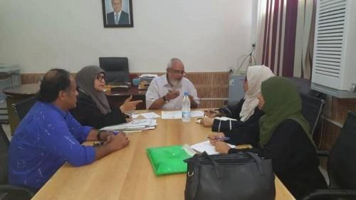 اجتماع في عدن يناقش الآلية الخاصة بعمل برنامج التغذية