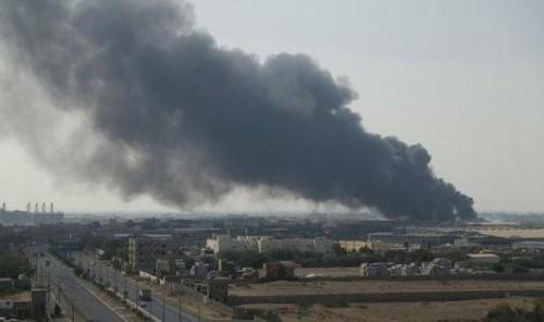 قوات التحالف تدمر دبابة حوثية بالحديدة