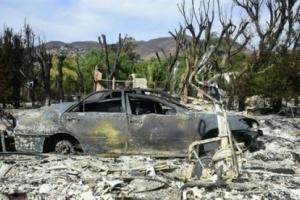 ارتفاع عدد ضحايا حرائق كاليفورنيا  إلى 56 قتيلاً