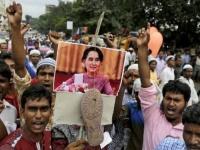"""""""الروهينجا""""  يحتجون على محاولات  إعادتهم لميانمار"""