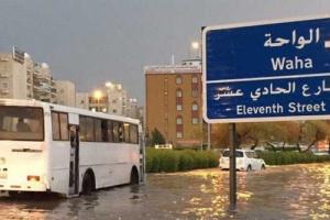الدفاع المدني بالكويت: تعاملنا مع 2987 بلاغا بسبب تقلبات الطقس