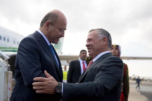 الرئيس العراقي: سنعمل على تعزيز التعاون الاقتصادي مع الأردن