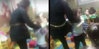 بالفيديو.. تعذيب طفلة داخل حضانة بمصر يثير الزعر