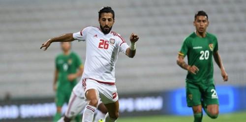 التعادل السلبي يحسم مباراة الإمارات وبوليفيا