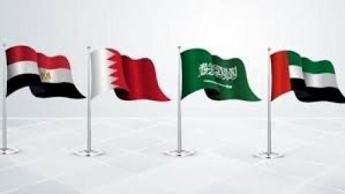 إعلامي سعودي يوجه رسالة للقنوات المعادية للرباعي العربي