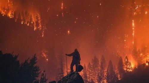 أكثر من  ألف مفقود جراء حريق كاليفورنيا