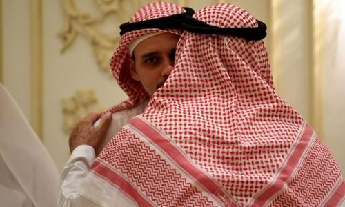 عزاء جمال خاشقجي في جدة «صور»