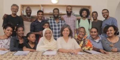 """السودان تستقبل الفنانة سلوى محمد على لتدريب ممثلي فيلم """"ستموت في العشرين"""""""