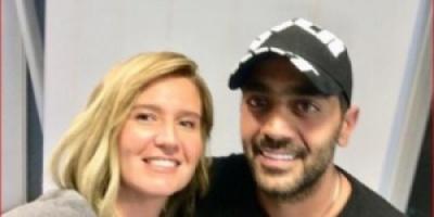 هنا شيحة تنشر أول صور لها مع زوجها أحمد فلوكس من شهر العسل