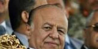 الرئيس اليمني:الاستناد على المرجعيات الثلاث السبيل لإنهاء الإنقلاب الحوثي