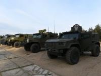 روسيا تكشف النقاب عن أحدث سياراتها المدرعة تكنولوجيا