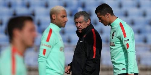 مدرب البرتغال: هذا هو موقفي من غياب رونالدو