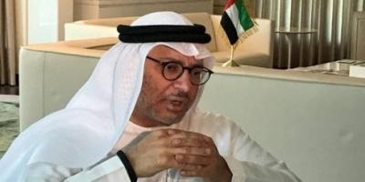 """وزير الخارجية الإماراتي محذرا من وسائل الإعلام التركية : """"تفبرك أخبار عن الخليج"""""""
