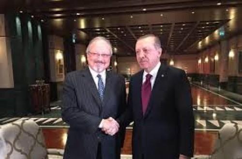 """مقتل """"خاشقجي"""" يكشف تناقض أردوغان"""