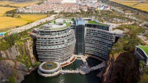 الصين تنشأ أول فندق تحت الأرض