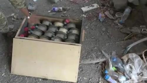 """ميليشيات الحوثي تحوّل مساجد الحديدة إلى معامل لتصنيع الألغام """"صور+ فيديو"""""""