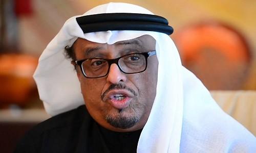 """""""خلفان"""" يصف زيارة قطر للعراق بمثل شعبي شهير"""