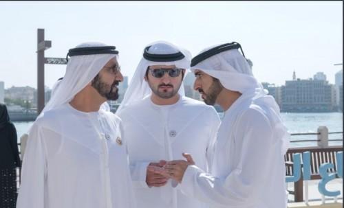 بن راشد يجتمع مع مدراء الدوائر فى دبي
