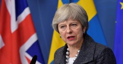 """رئيسة الوزراء البريطانية تدافع عن مسودة اتفاق خروج بلادها من """"بريكست"""""""