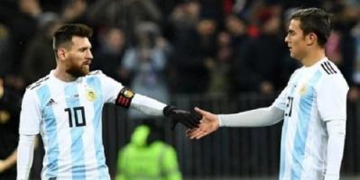 ديبالا يطالب ميسي بالعودة إلى الأرجنتين