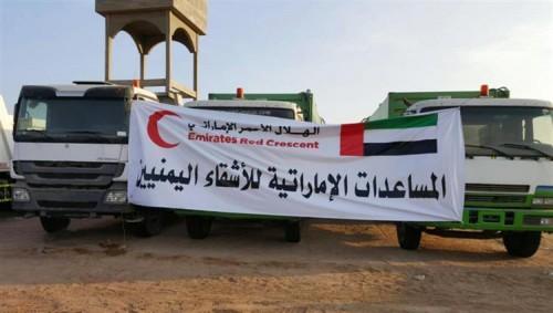 36 ألفاً من أهالي الساحل الغربي يستفيدون من المساعدات الإماراتية خلال 5 أيام