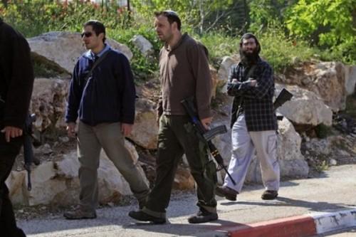 مستوطنون إسرائيليون يخربون متنزه فلسطيني بنابلس