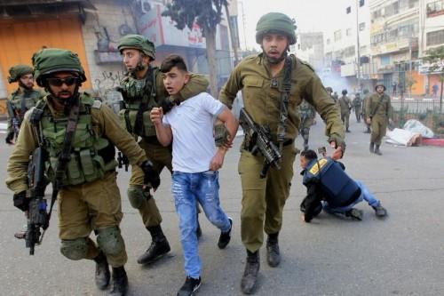 908 طفلاً فلسطينياً اعتقلتهم إسرائيل خلال 2018