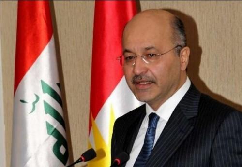الرئيس العراقي يبحث مستجدات استكمال تشكيل الحكومة