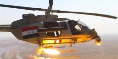 طائرات الجيش العراقي تشن غارات على أهداف لداعش بسوريا
