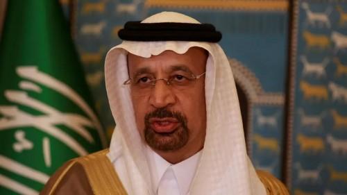 """بالفيديو.. وزير الطاقة السعودي يثير الجدل برقصة """"الدحة"""""""