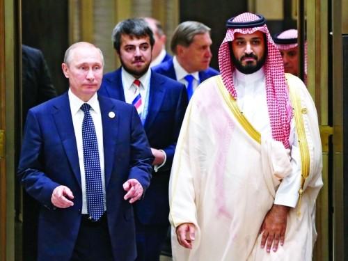 """""""الكرملين"""": لقاء مرتقب بين """"بوتن"""" و""""بن سلمان"""" خلال قمة الـ20"""