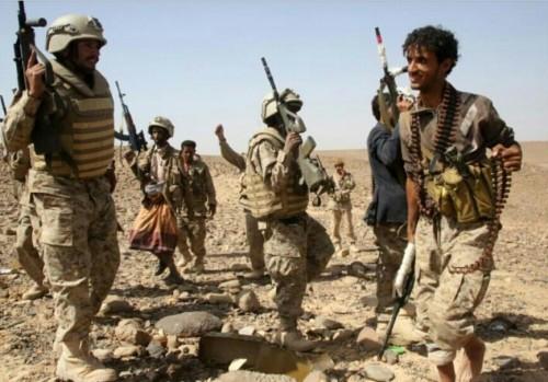 الجيش يحبط هجوم حوثي في الجوف